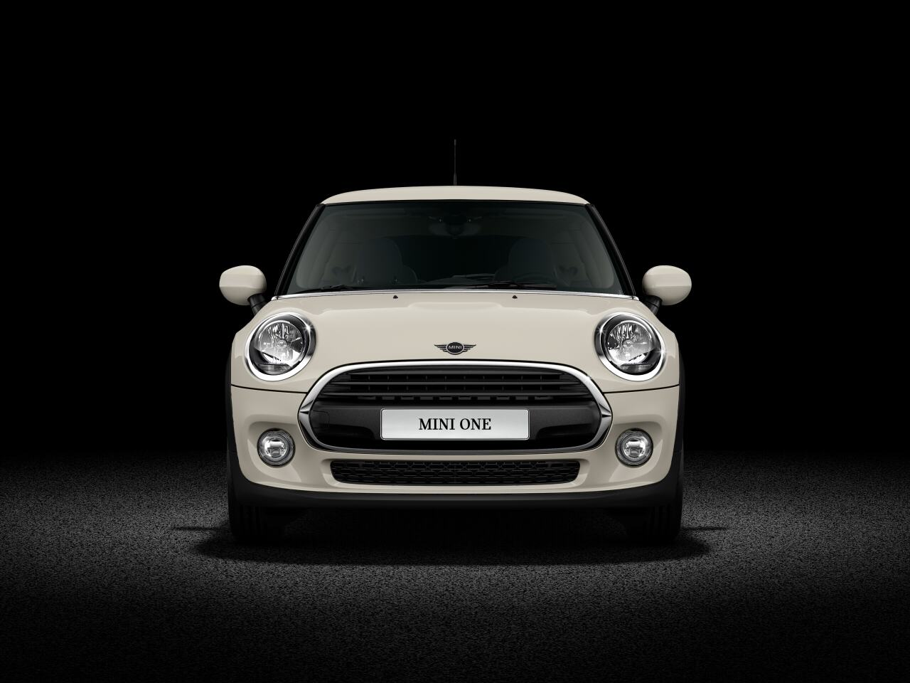 MINI One front view